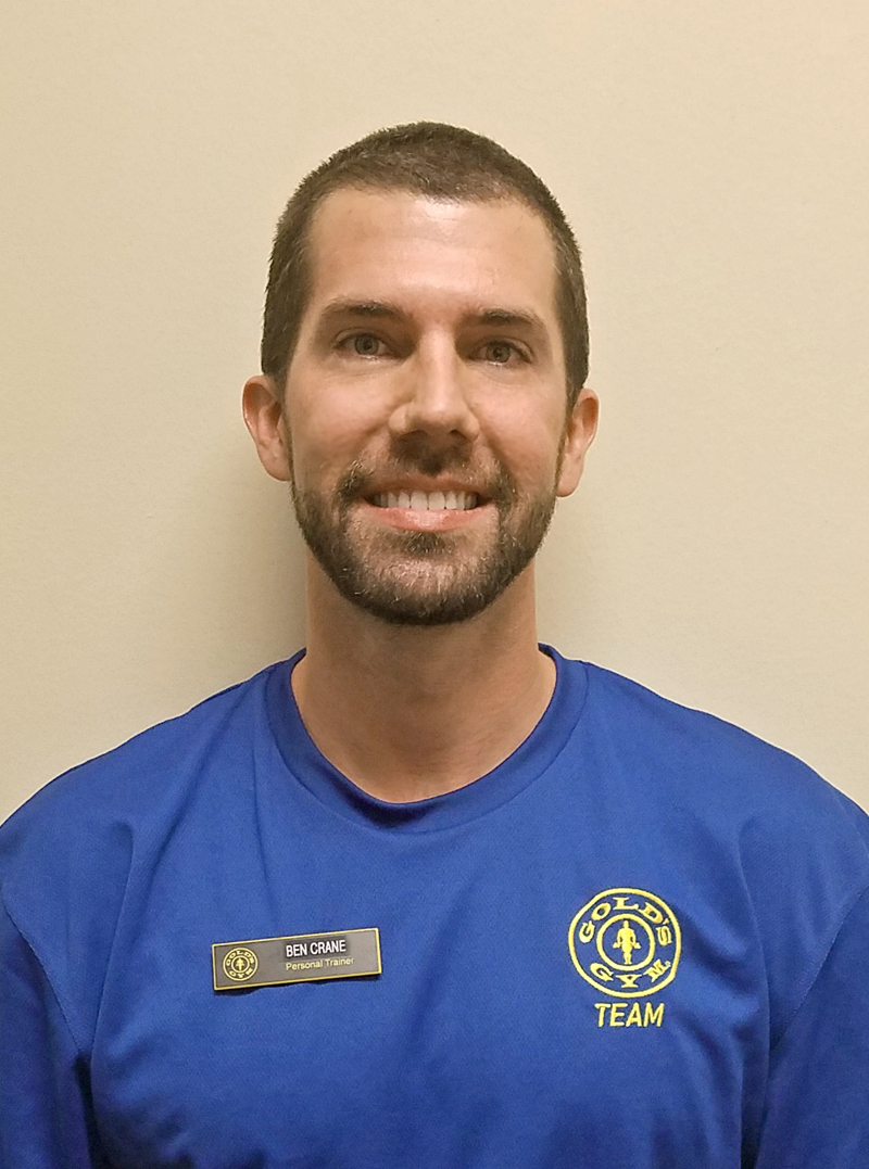Ben Crane - Personal Trainer at Gold's Gym in College Station, TX