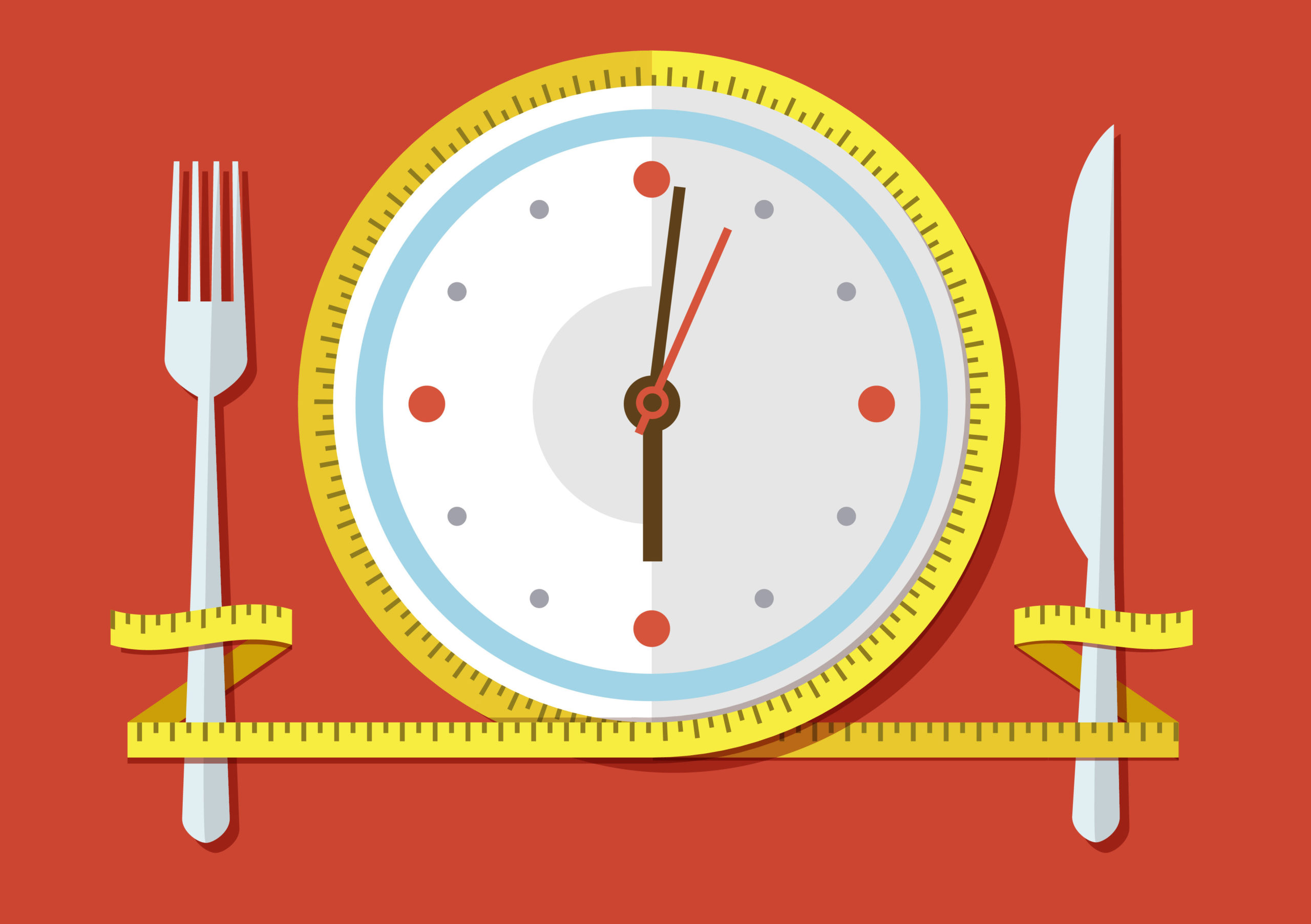 Intermittent Fasting Concept of Meal Timing