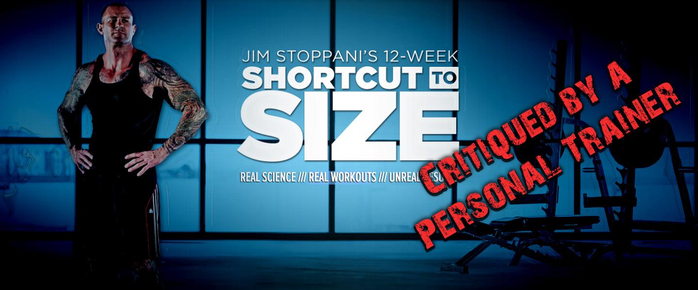 Jim Stoppani's Shortcut to Size Program Review