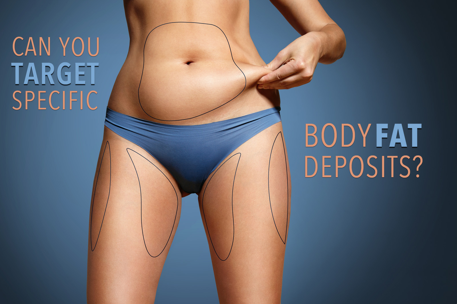 Can you spot target specific body fat deposits?