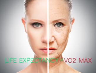 Life Expectancy = VO2 Max