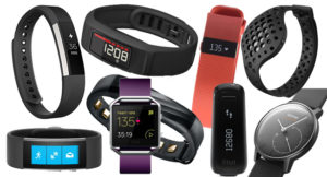 Various activity trackers