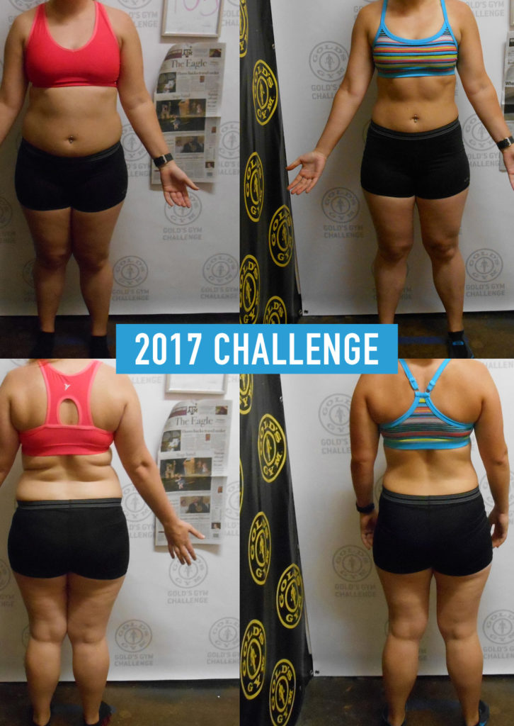 Audrey's 2017 Transformation Challenge Before and After Photo