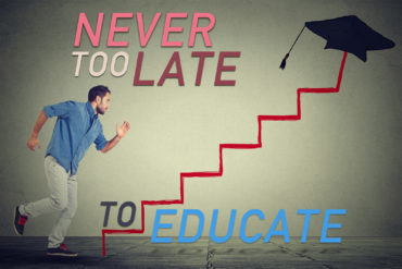 """""""Never Too Late to Educate"""" Article Picture"""